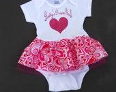 Daddys Girl - Baby Girl Tutu Dress - Baby Onesie - 1st Fathers Day  - Father Daugther - Baby Girl Birthday Dress - sz Newborn to 24 months