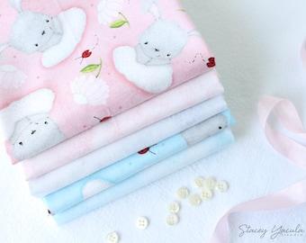 Bunny Love Fabric Individual Fat Quarter