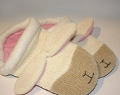 Sleepytime Lamb Sweater Slippers - Made to Order