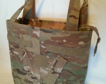 Multicam Army Mom wife uniform purse free tags personlized your choice colors for lining embroidery trims Army Wife zipper to close