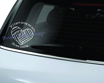 Yarn Love Yarn Decal Sticker