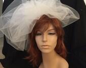 Wedding Veil -- Modified Classy Bubble Veil