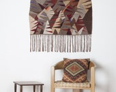 Colorful Hand Woven Wall Hanging