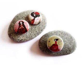 Fairytales Button pack #3 - Badges - Pinback button