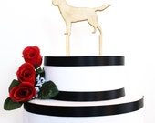 Custom Dog Cake topper, wedding cake topper, acrylic cake topper, wood cake topper, dachshund cake topper,