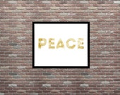Peace, Urban Art, Grunge Art, Dorm Decor, Teen Room Decor,INSTANT DOWNLOAD,Teen Decor Ideas,Teen Room Art,Apartment Wall Decor,Printable Art