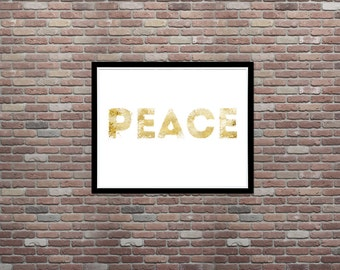 Peace, Urban Art, Grunge Art, Dorm Decor, Teen Room Decor,INSTANT DOWNLOAD,Teen Decor Ideas,Teen Room Art,Apartment Wall Decor,Printable Art