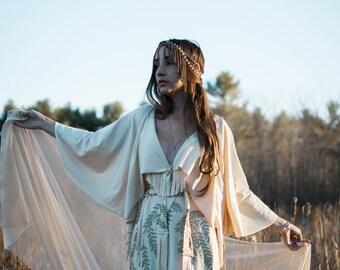 The Gown - Organic Fabric - Organic Wedding Dress - by Simka Sol®