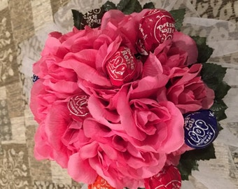 Pink Lollipop Bouquet, Dance Recital Bouquet