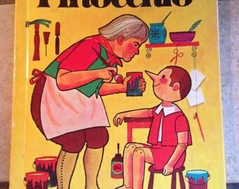 1974 Pinocchio Children's Wonder Book