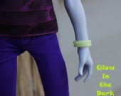 10 Rubber Bracelets fits Petite Slimline Guy Male Boy Dolls 37 Colors New Glow in the Dark and Neon Colors