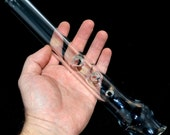 Flute with Bell and Flare - Handblown Glass