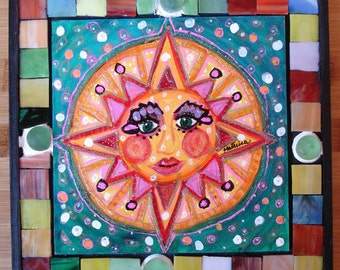 Sing Song Saturday Mosaic oriiginal art