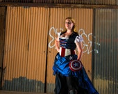 Captain America Inspired Steampunk Outfit