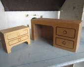 SALE Creative Playthings Dollhouse Furniture. Made in Finland #255