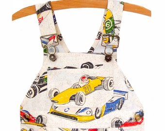 Overalls / Handmade / Pants / Coveralls / Dungarees - Speedy Racer Overalls