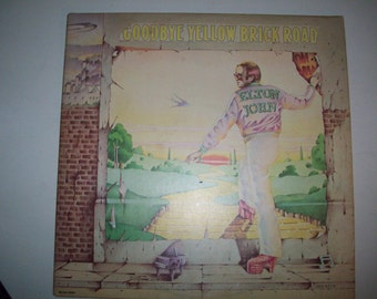 Goodbye Yellow Brick Road Elton John Vintage Vinyl Record Album