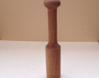 Vintage Wooden Pestle