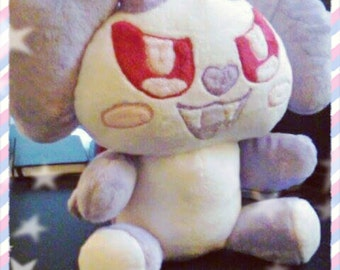 Kawaii Creepy Cute Vampanda Plush Vampire Panda Pastel Goth Plushie