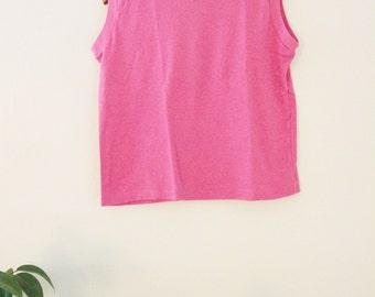 90's Pink Sleeveless Top