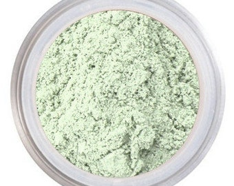 Color Correct - Green Mint Conceal - Green Makeup Conceal / MENTHE / Neutralizes Redness - Acne - Rosacea / Loose Corrector  / Acne Prone