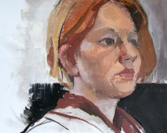 Titine - original oil painting (FP 78)