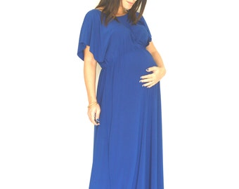 Elegant maternity dress, Maxi maternity dress,Long plus size dress, Maternity boho dress, Maxi maternity dress, Plus size maternity dress