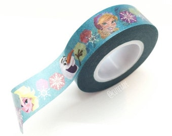 Frozen washi tape frozen birthday decorations frozen party favors (Licensed)