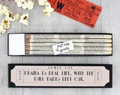 Film Gifts - Cinema Pencils - Gifts for Dad - Film fan pencils - Screen Writer stationery - Oscar gifts - Film Award party gifts
