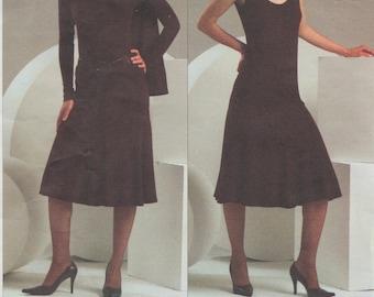 Vogue 2867 / Designer Sewing Pattern By Donna Karan / Skirt Top Shrug / Sizes 18 20 22
