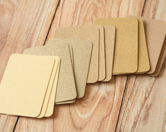 200pc NATURAL Colours Eco Series Business Card Blanks