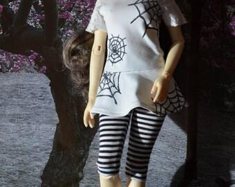 MSD Iplehouse JID dress t-shirt + leggings white