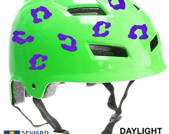 Skull Reflective Decal Reflective Skull Helmet Sticker - Custom motorcycle helmet stickers and decalsbicycle helmet decals new ideas for you in bikes and cycle