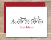 Baby Thank You Cards, Bicycles, Bikes, Tricycles, Baby Shower, New Baby Cards, Baby Announcements, Birth Announcements, Baby Bike Theme