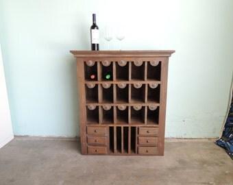 RUSTIC Wine Rack/Bar  (Los Angeles)