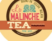 Sample tin: La Malinche loose chocolate hibiscus tea blend