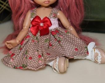 Pukifee Little Strawberry Dress - 3 pc set