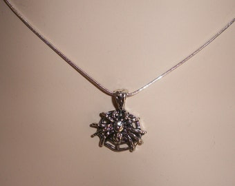 SPIDER Necklace, Insect Jewelry, 2 styles, Clearance Sale by  Brendas Beading on Etsy