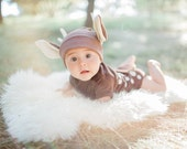 Baby Costume, Baby Deer Costume, Fawn Halloween Costume, Deer and Hunter, Animal Baby Costume, The Wishing Elephant