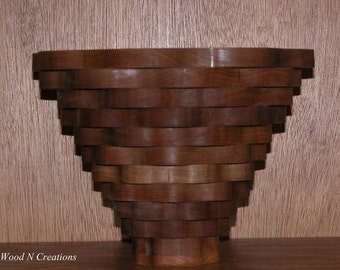 Bowl for Home Decor Undulating Circles