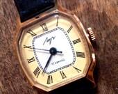 Vintage wrist watch LUCH from Belarus ladies wristwatch Soviet Union era wrist watch