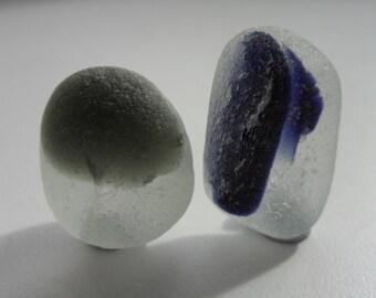 Beautiful Multis- Seaham English Sea Glass - Free Shipping (4982)