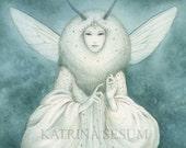 Moth Queen A5 Print