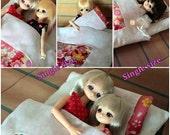 Japanese Futon set 1/6 Doll