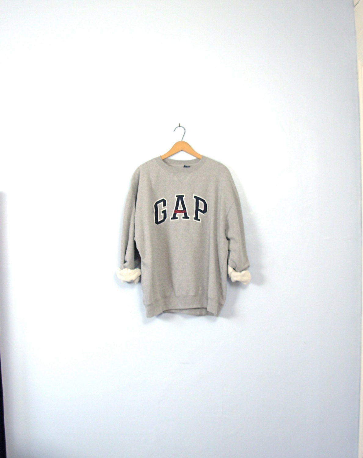 Vintage 90 39 s grey gap sweatshirt grey pullover gray for Gap usa t shirt