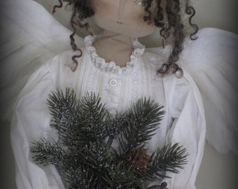 FINISHED PIECE OOAK Noelle Christmas Angel by cheswickcompany