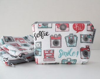 simple pouch -- camera happy instagram inspired