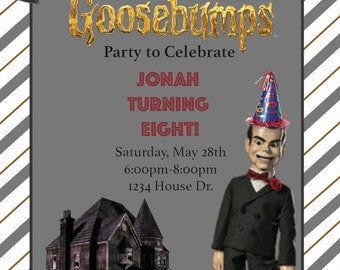 Goosebumps Party Invitation