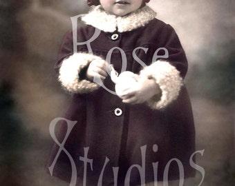 Little Beth-Vintage Photo Digital Image Download