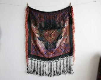 SALE Temple Fringe Textile